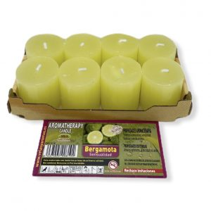 pack 8 unidades bergamota