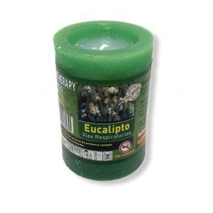 Velón de eucalipto