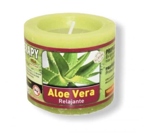 Velón aromaterapia aloe vera