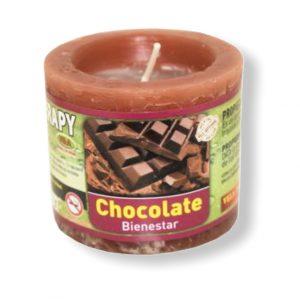Velón aromaterapia chocolate