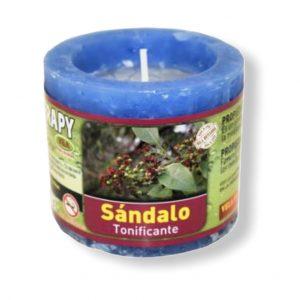 Velón aromaterapia sandalo