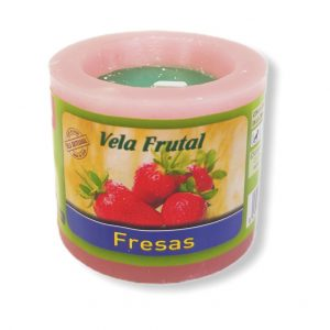 Velón frutal fresas