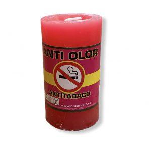 Velón anti olor rojo