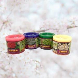 Velón aromaterapia